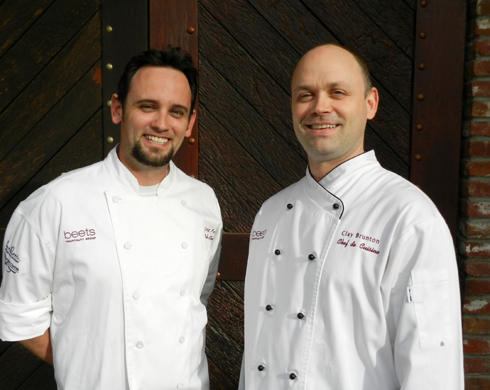 Chef-Clay-Brunton-and-Chef-Greg-Foster-of-Beets-Hospitality-Group