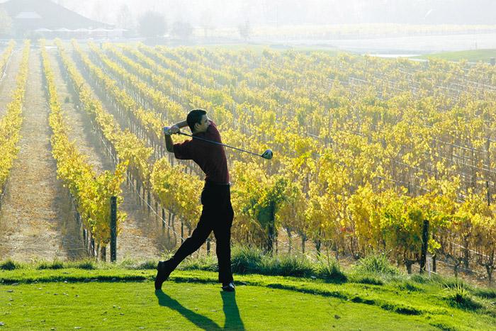 Golfer-LV-Wine-Country