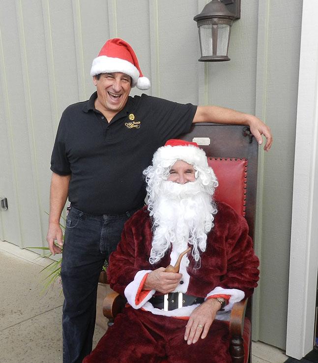 Cuda Ridge- Larry and Santa crop