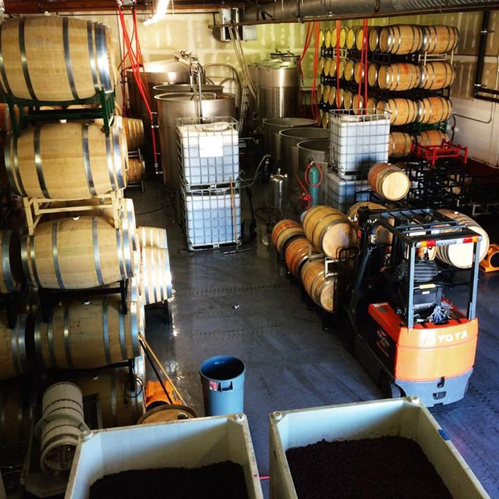 Barrel work is the name of the game for Nottingham Cellars.
