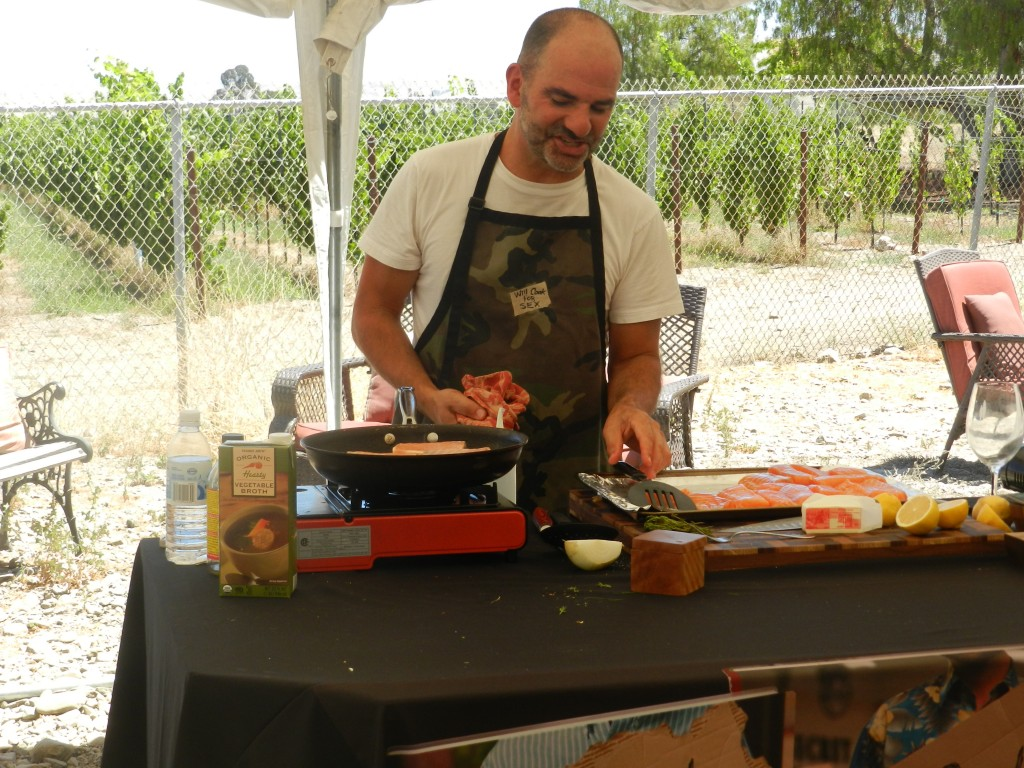 Cooking Demonstration with Rocky Fino