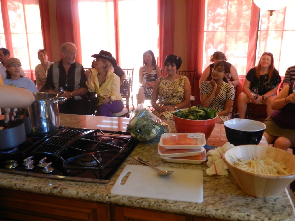 Cooking Demonstration with My Nguyen