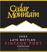 Cedar Mountain Winery & Port Works