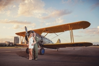 Romantic Getaway for Two with Bi-Plane Ride